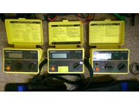electricians test equipment