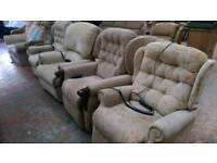 Electric rise and recliner chairs very good condition