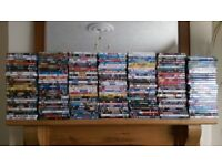 Large DVD Collection over 200 dvd's various Genres