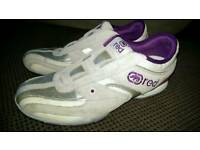 Ecko slip on women's trainers size 7 silver and purple
