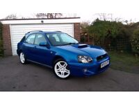 Subaru Impreza WRX Estate Turbo, Great Condition, Service History,Newage Blobeye