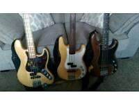 Active Jazz bass