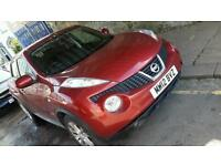 Nissan juke 2012 low mileage 35k only MINT condition Fully loaded