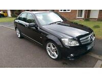 Top spec Mercedes C250 Sport , heated leather seats , integrated DVD , sat nav telephones system