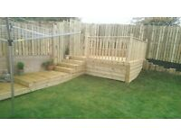 STORM DAMAGE REPAIRS QUALITY FENCING , DECKING SUPPLIED AND FITTED ,SHEDS AND GATES