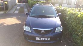 2003 MAZDA MPV 2L TURBO DIESEL BLUE