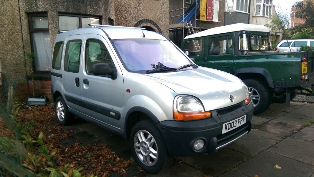 renault kangoo trekka 4x4 in wellingborough. Black Bedroom Furniture Sets. Home Design Ideas