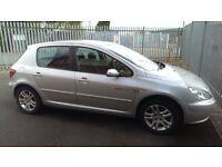 Reduced to £350! Peugeot 307 HDI 1.6 Quicksilver MOT Dec 16 132k miles, 2 keys Spares or Repair
