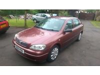 Vauxhall astra club 2001 automatic