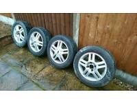 """Ford Focus 15"""" alloys and tyres 4x108"""