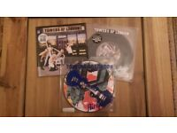 Towers of London 'How Rude She Was' 2 x 7 inch Single Set + 'Air Guitar' Picture Disc