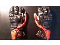 Dainese SPA motorcycle gloves (Size M)