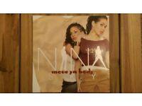 Nina Sky feat. Jabba 'Move Ya Body' 12 inch Vinyl Single