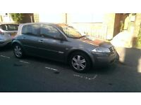 Renault Megane 1.6 16V Grey 2004 needs attention