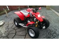 For sale a road legal off road full size quad bike not 4x4 quads car cars no swaps crf yz yzf ltz