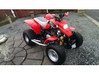 For sale a road legal off road full size quad bike not 4x4 quads car cars no swaps crf yz yzf ltz