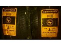 Continental van tyres 205 65 16 new