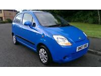 2007 CHEVROLET MATIZ 1.0 SE 5 DOOR * ONLY 47000 MILES *