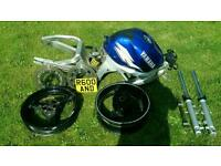 Unfinished Project 1999 Yamaha R600 R6 5eb valuable number plate