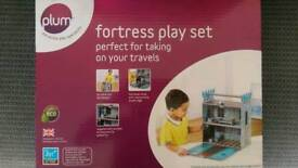 Plum Fortress Wooden Play Set