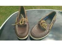 Sperry Size UK8 Top Side Boat Shoes