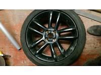"Vauxhall corsa 17"" alloy wheel with tyre 215/45/17"