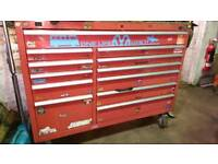 54 inch toolbox and tools