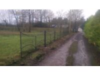 Gate, fence, garden, metal gate