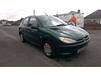 Peugeot 206 HDi - great condition -12 month MOT