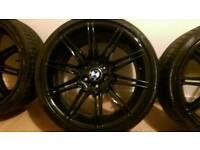 "BMW 19"" Black Gloss Alloys"