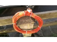 GENUINE FLYMO 15M POWER EXTENSION LEAD FOR SALE
