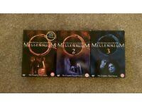 Millennium DVD's - Complete series 1-3
