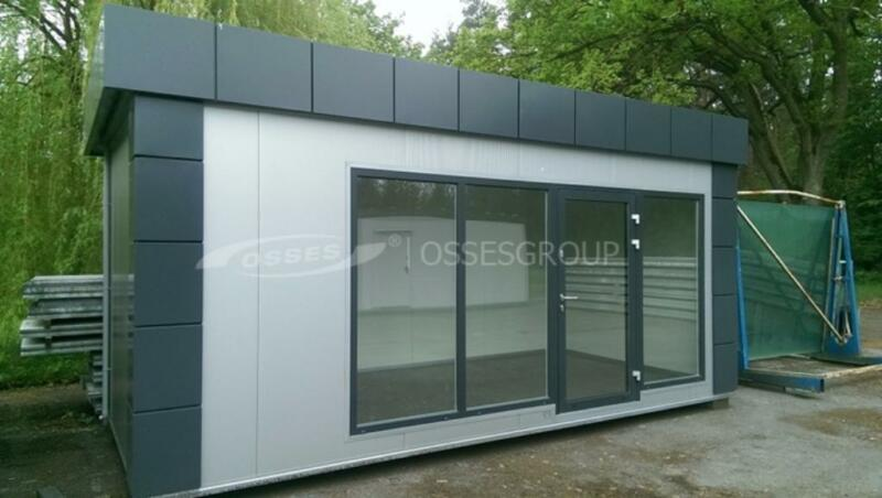 verkauf b ro container pavillon kiosk shop handel laden in. Black Bedroom Furniture Sets. Home Design Ideas