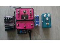 Guitar Pedals (Hot Hand + Source Audio Pedal)