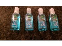 4 x Clean and Protect Hand Gel-Thyme & Tea Tree oil by Radox