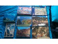 8 Large Jigsaws