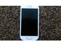 Samsung Galaxy S3 mini, white, great condition