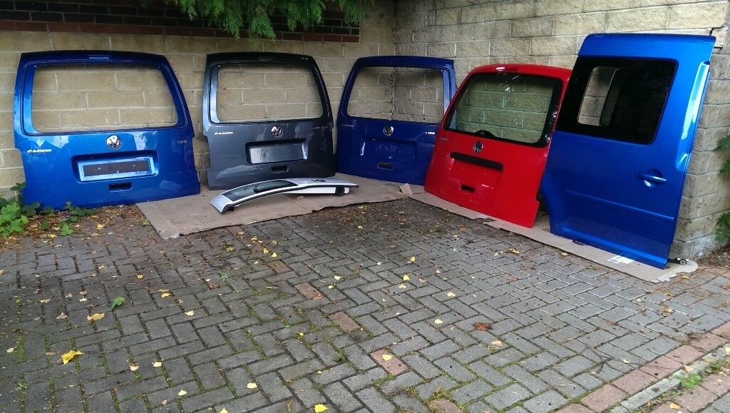 Vw Caddy 2ko Tailgate Rear Door Camper Conversion Day Van Delivery Ava