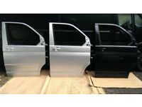vw t5 t5.1 transporter caravelle multivan driver passenger front door mint white silver black blue