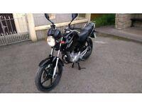 Yamaha YBR 125 , 2011 model, Long MOT - Very good condition