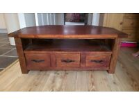 tv unit and chest