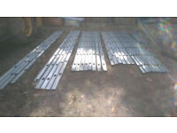 Gyproc GYPFRAME metal galvanised channels framing stud framing ceiling walls lots available job lot