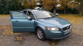 2008 VOLVO V50 S 16V BLUE ONLY 43,572 MILAGE