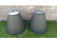 2 * Large Green Rotol Conical Compost Bins with Lids