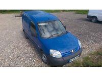 Peugeot Partner Hdi panel van blue manual gearbox