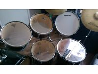 11 pc drum kit in gd condition perfect Christmas gift