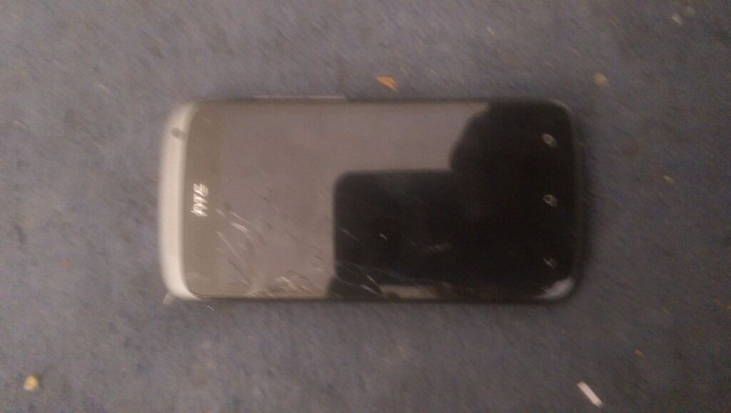 Htc one s unlocked touch screen cracked still worksin Hackney, LondonGumtree - Htc one s touch screen cracked still works charger is included light blue and black screen with charger