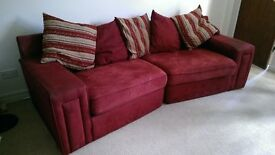 Matching 3 seater and 2 seater sofas
