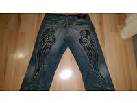 kosmo lupo designer jeans. brand new W34 L32 £25