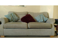 2-Seater Sofa Bed - very good condition, comfortable, smoke- and pet-free home